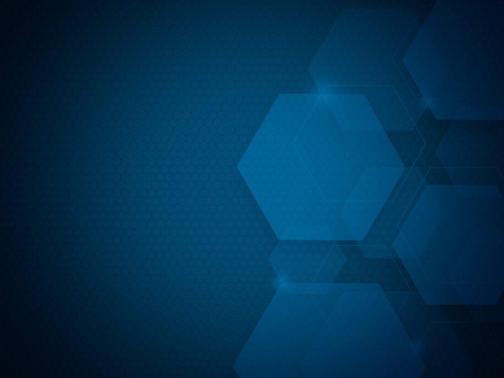 Blue Hexagons